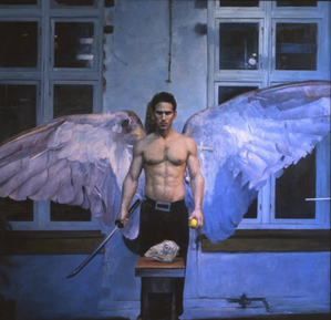 Angel Michael by Knut Andre Vikshaland