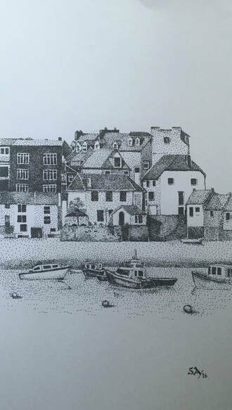 St Ives Pointillism